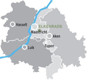 Elkenrade map