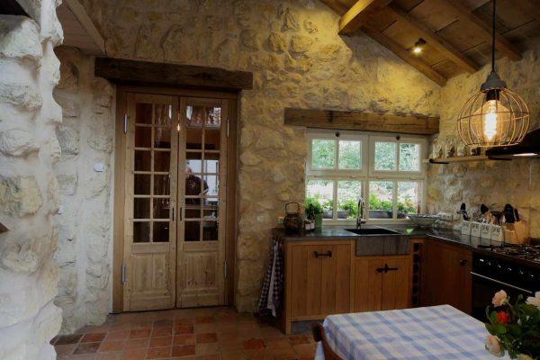 vakantiewoning keuken