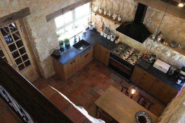 vakantiehuis keuken heuvelland